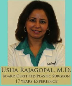 About Dr. Usha Rajagopal - San Francisco Plastic Surgery